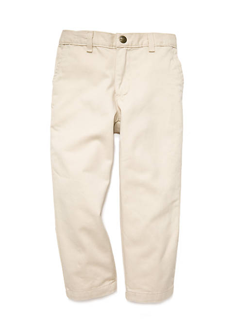 Twill Pants Toddler Boys