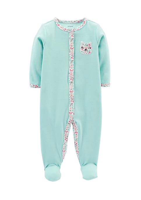 Carter's® Bunny Snap-Up Cotton Sleep & Play Bodysuit