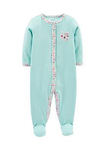 Bunny Snap-Up Cotton Sleep & Play Bodysuit