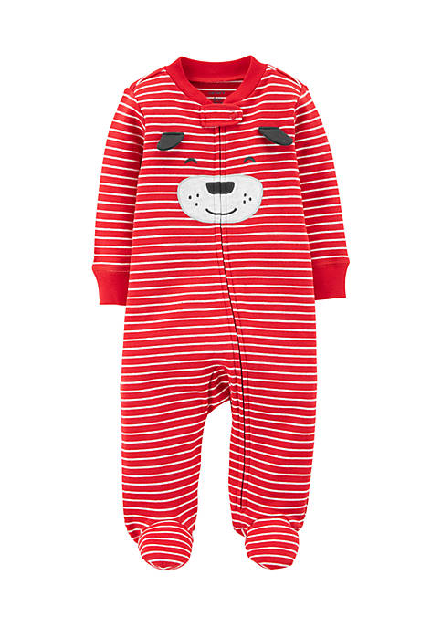 Carter's® Newborn Boys Dog Zip-Up Sleep & Play