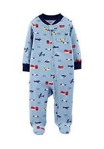 Baby Boys Hero Zip-Up Cotton Sleep & Play