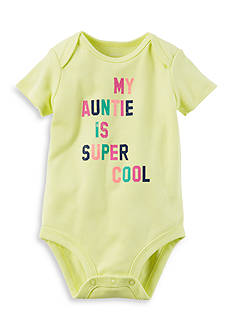 Carter's® Super Cool Auntie Collectible Bodysuit