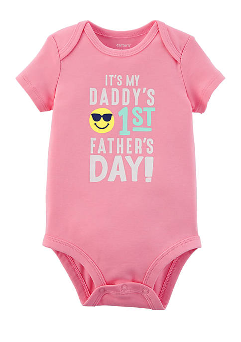 Carter's® Girls Newborn Fathers Day Collectible Bodysuit