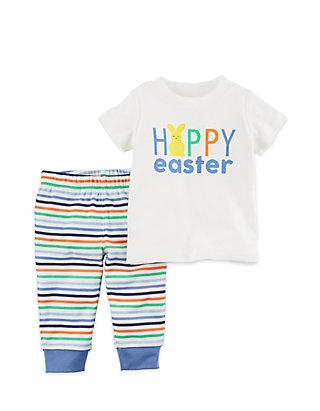 891f8371a728 Carter's® 2-Piece Easter Top and Pant Set Newborn Boys   belk