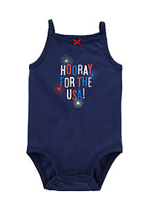 4th Of July Collectible Bodysuit Infant Girls