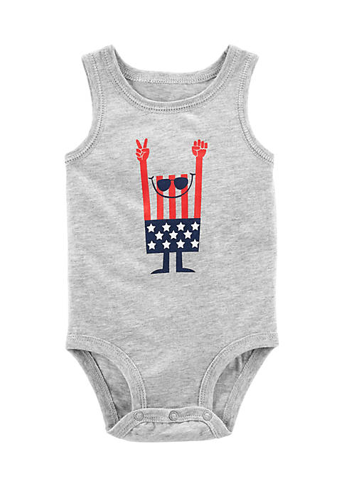 Carter's® 4th Of July Tank-Top Bodysuit Infant Boys