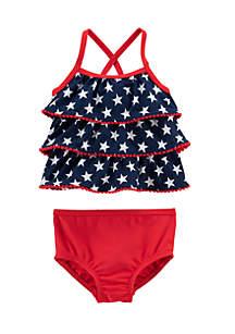 Flag Swimsuit Infant Girls