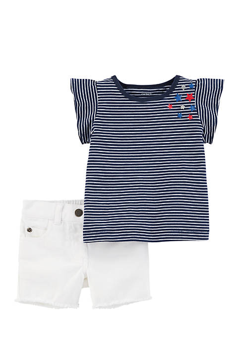 Carter's® Girls Infant 2-Piece 4th Of July Top