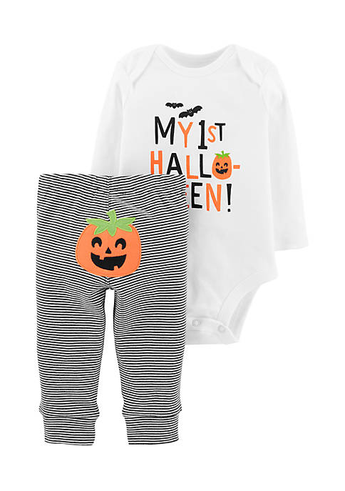 Carter's® Boys Infant 2-Piece Halloween Bodysuit Pant Set