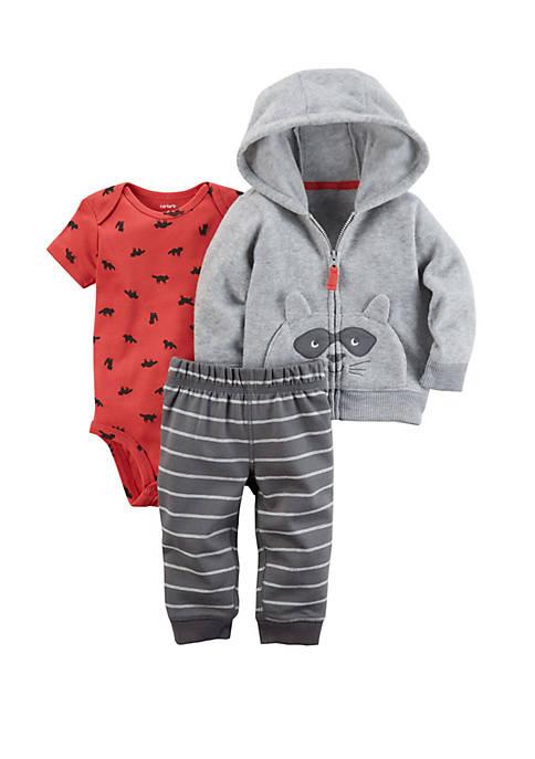 Baby Boys 3 Piece Little Jacket Set
