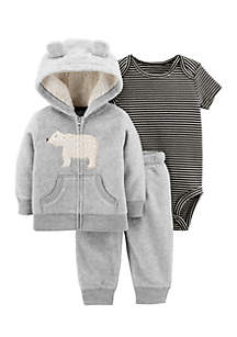 Baby Boys Little Jacket Set
