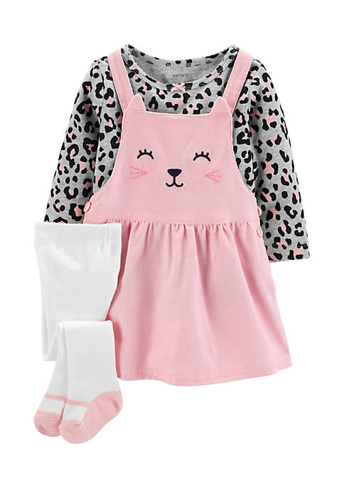 Carter's® Infant Girls 3-Piece Jumper Set