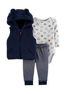 Baby Boys Little Vest Set