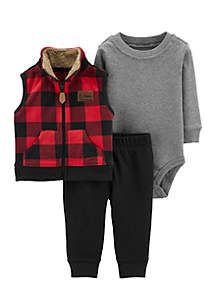 Baby Boys Little Vest Set