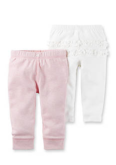 Carter's® 2-Pack Ruffle Pants Set