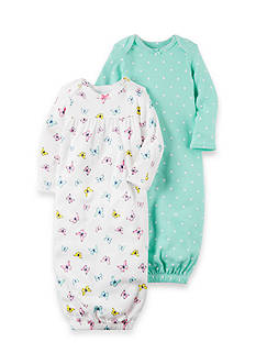 Carter's® 2-Pack Babysoft Heathered Sleeper Gowns