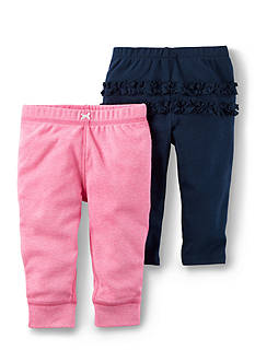 Carter's® 2-Pack Babysoft Pants
