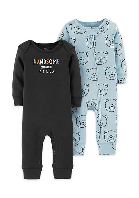 Carter's® 2-Pack Jumpsuits Infant Boys