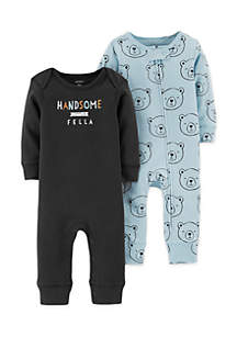 2-Pack Jumpsuits Infant Boys