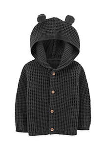 Button-Front Cardigan Infant Boys