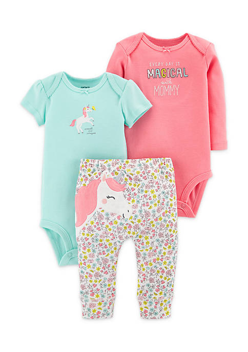 Carter's® 3-Piece Little Character Set Girls Infant