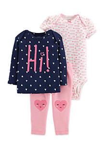 3-Piece Little Character Set Girls Infant