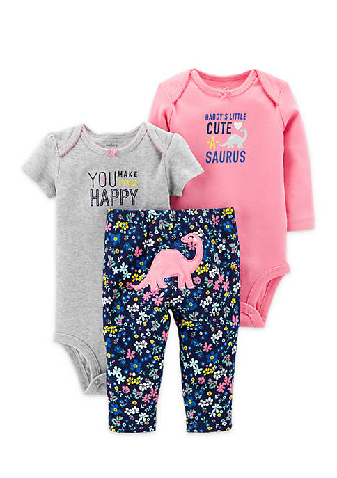 Carter's® 3-Piece Little Character Set Newborn Girls