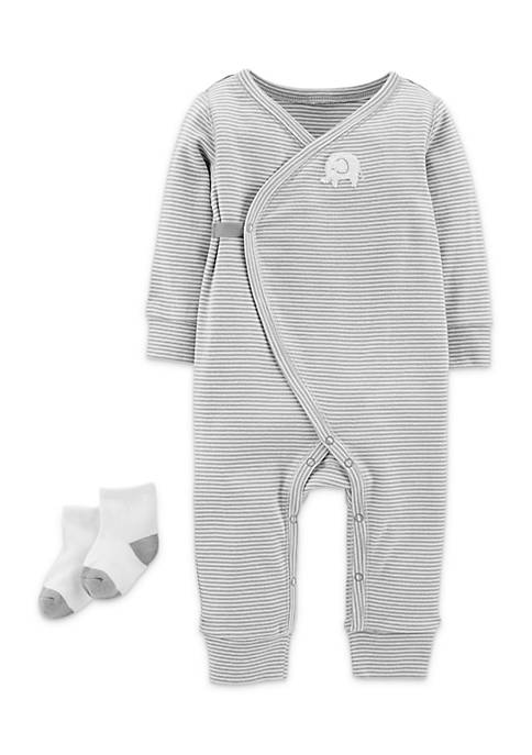 Carter's® Jumpsuit and Socks Boys Infant