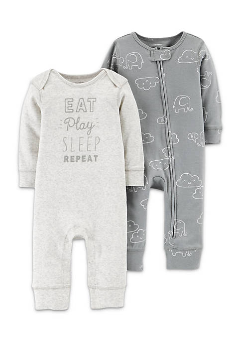 Carter's® Boys Infant 2-Pack Jumpsuits
