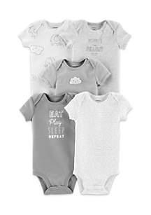 Infant 5-Pack Neutral Original Bodysuits