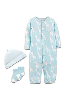 Infant Boys Baby Soft Jumpsuit