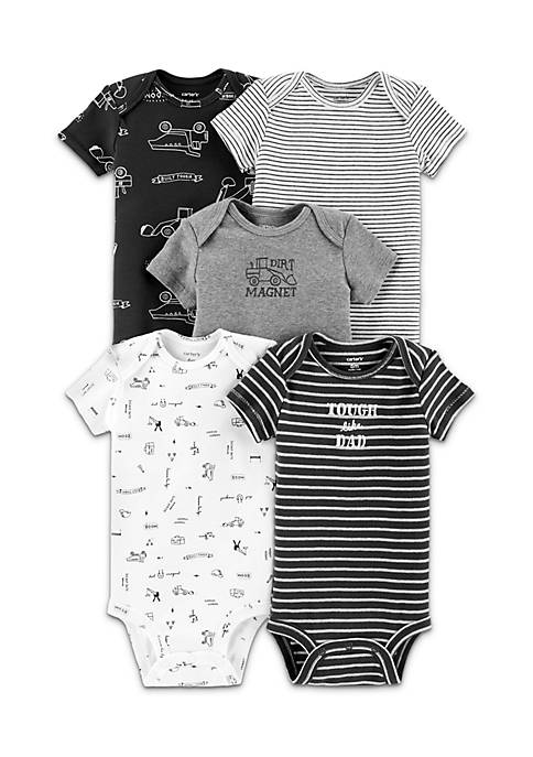 Carter's® Boys Infant 5-Pack Construction Original Bodysuits