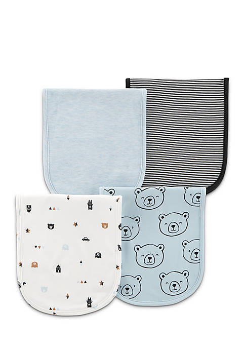 Carter's® 4-Pack Burp Cloths