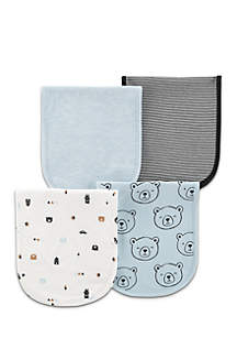4-Pack Burp Cloths