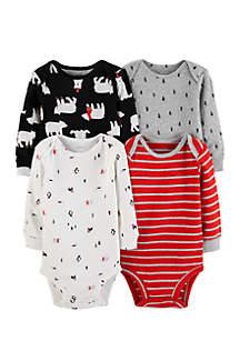 Infant Boys 4-Pack Original Bodysuits