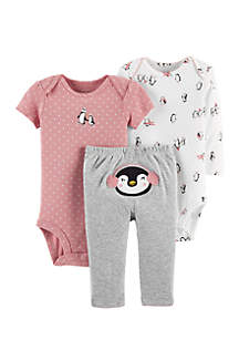Infant Girls 3-Piece Little Character Set