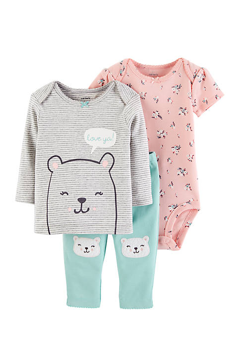 Carter's® Infant Girls 3-Piece Little Character Set
