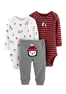 Infant Boys 3-Piece Little Character Set