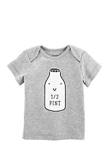 Infant Girls Half Pint Graphic Tee