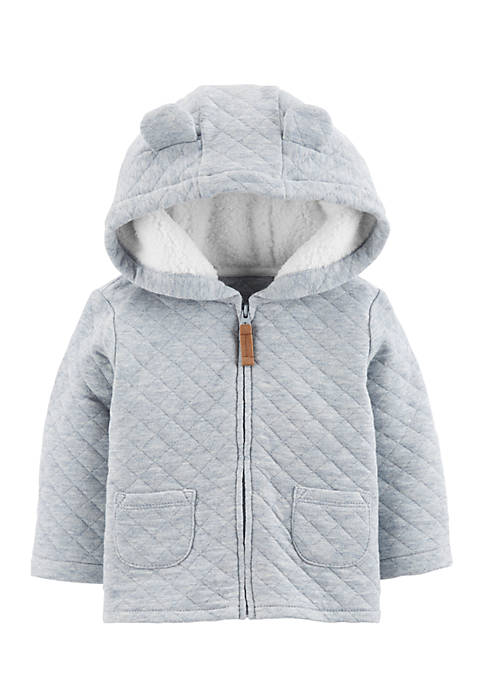 Carter's® Infant Boys Sherpa Quilted Jacket