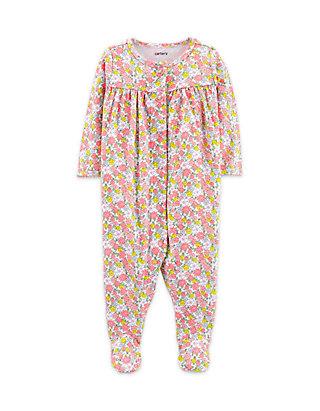 Carters Baby Girls Floral Print Sleep /& Play