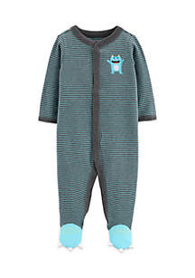 Carter's® Baby Boys Monster Snap-Up Cotton Sleep & Play