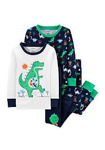 Carter's® Baby Boys Dinosaur Snug Fit Cotton Pajama Set
