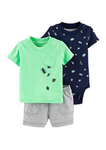 Baby Boys Bug Little Short Set