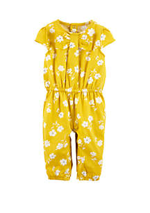 ab838c39f0 ... Carter s® Baby Girls Floral Jumpsuit
