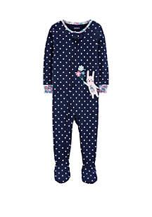 Carter's® Baby Girls Bunny Snug Fit Footie Pajamas