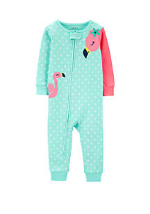 Carter's® Toddler GIrls Flamingo Snug Fit Cotton Footless Pajamas