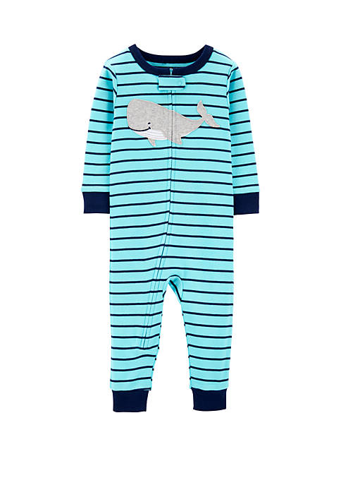 Carter's® Baby Boys One Piece Whale Snug Fit