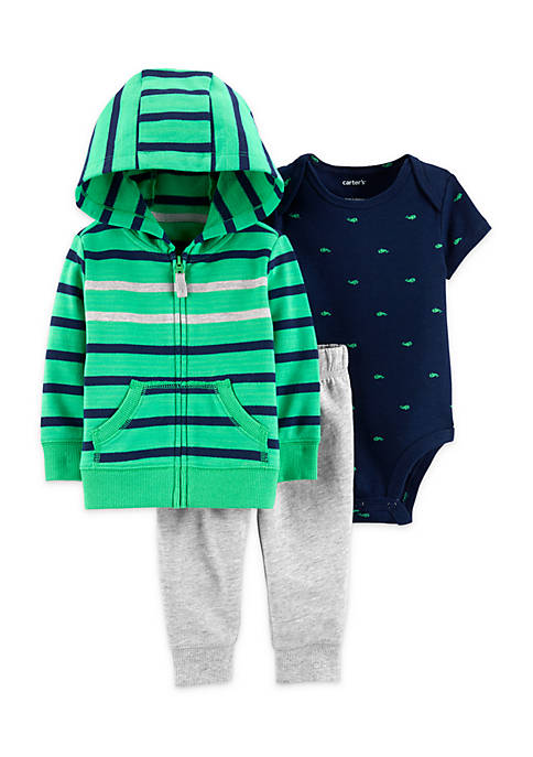 Carter's® Baby Boys 3-Piece Little Jacket Set