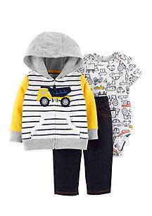 Baby Boys 3-Piece Little Jacket Set